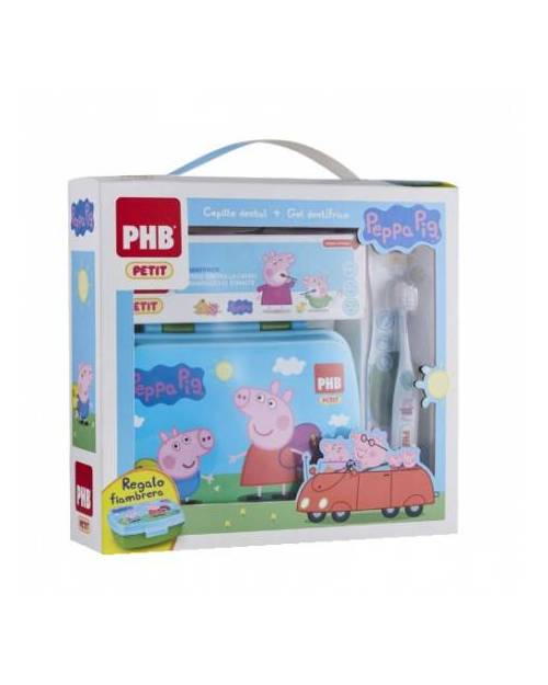 PHB Infantil Peppa Pig gel 75 ml + Cepillo