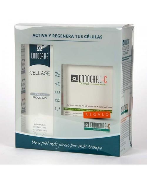 Endocare Cellage Crema Día SPF30 + 7 Ampollas Endocare C