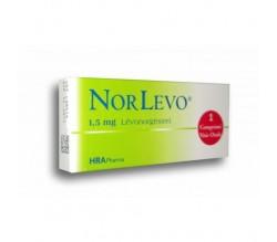 NORLEVO EUROMEDICINES (1.5 MG 1 COMPRIMIDO )