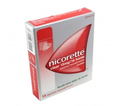 NICORETTE CLEAR (15 MG/16 H 14 PARCHES TRANSDERMICOS 23.62 MG )