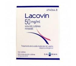 LACOVIN (50 MG/ML SOLUCION CUTANEA 4 FRASCOS 60 ML )