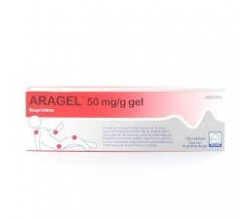 ARAGEL (50 MG/G GEL TOPICO 60 G )