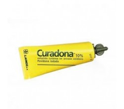 CURADONA (10% SOLUCION TOPICA 60 ML )