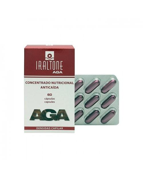 Iraltone AGA 60 cápsulas