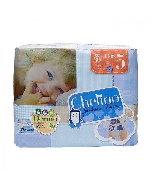 Chelino Fashion&Love pañales T5 13-18kg 30uds