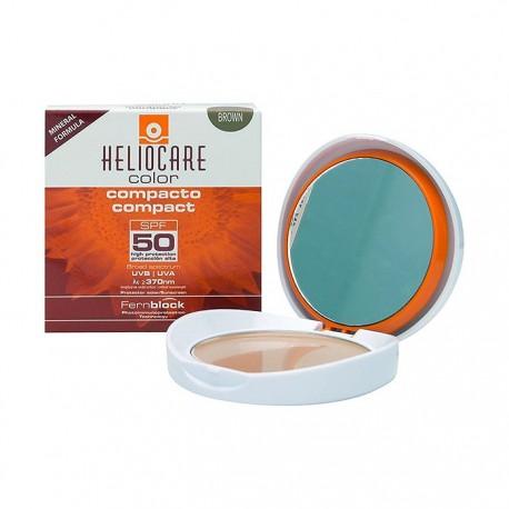 Heliocare compacto brown spf50 piel normal y seca 10gr